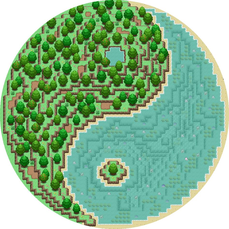 Pokémon-Map: Gegensatz...
