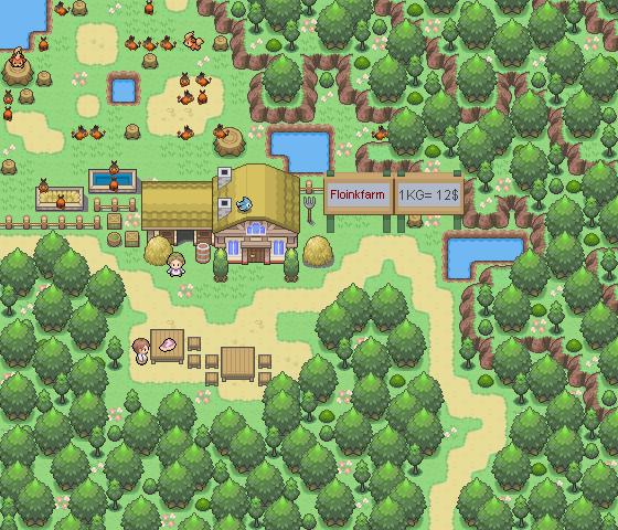 Pokémon-Map: Ich in der Pokemonwelt