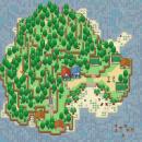 Eine Insel, mitten im Meer...