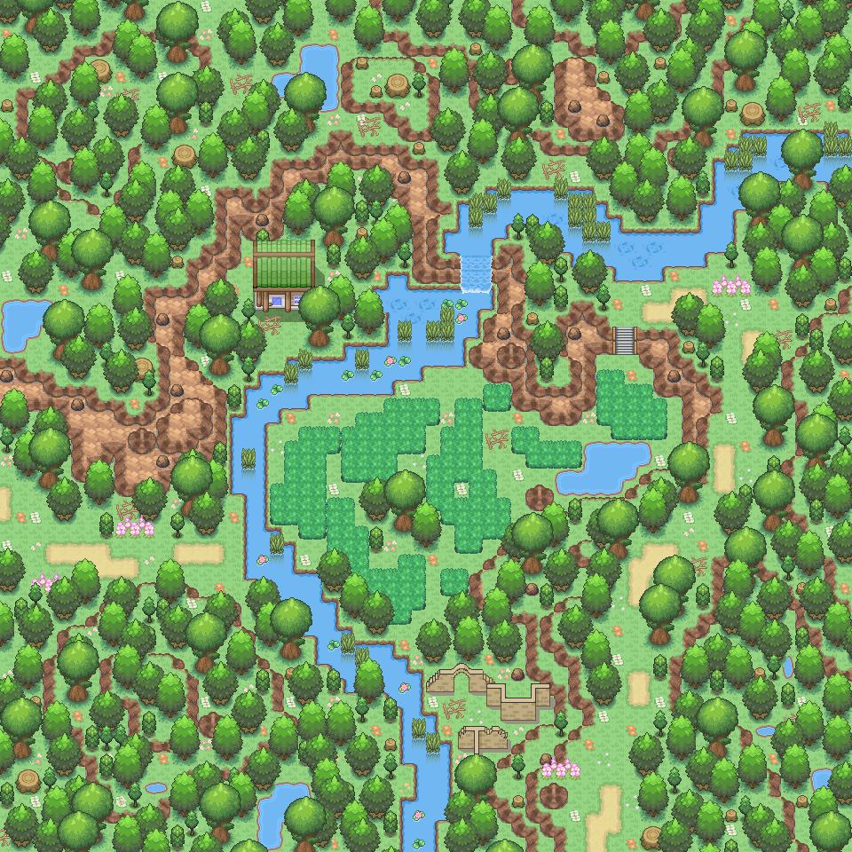 Pokémon-Map: Urlaub im Grünen