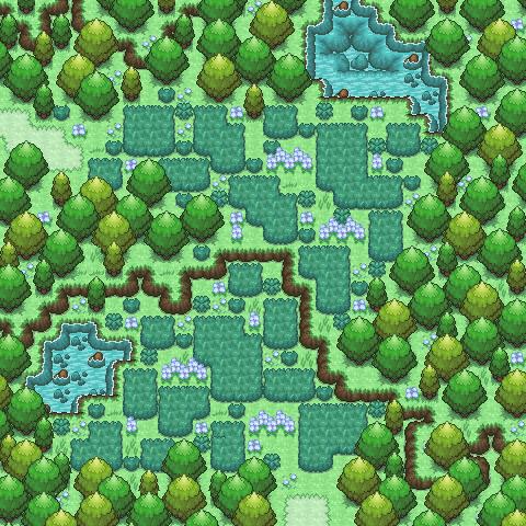 Pokémon-Map: Lückenfüller
