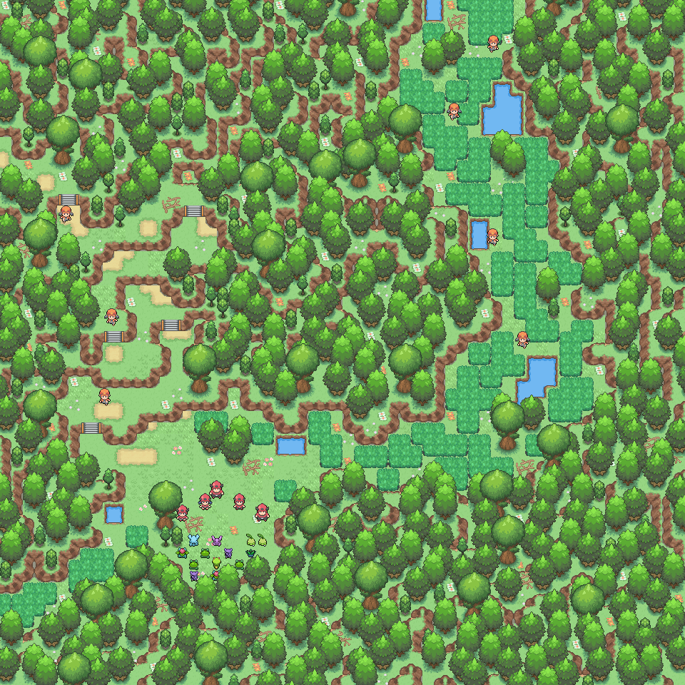 Pokémon-Map: Ranger auf Tour