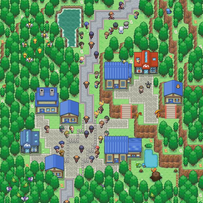 Pokémon-Map: Radrennen