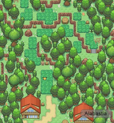 Pokémon-Map: Lebensraum