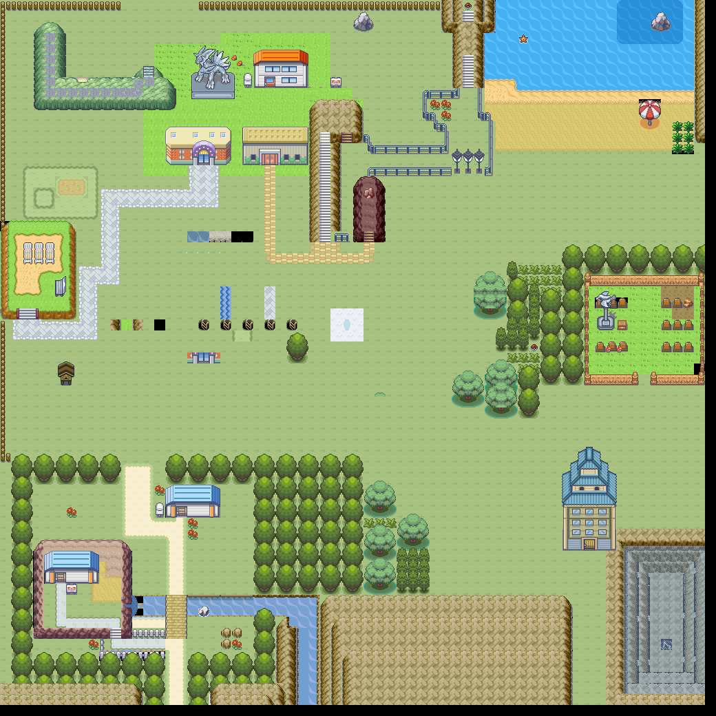Pokémon-Map: Das was aus meiner ersten Map geworden ist...