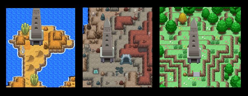 Pokémon-Map: Die drei Türme-Vorschau zum letzten Projekt