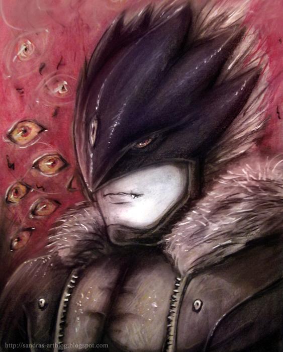 Pokémon-Zeichnung: Demon Lord Beelzemon
