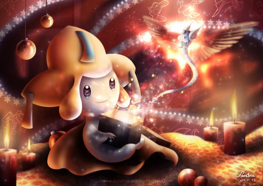 Pokémon-Zeichnung: Adventskalenderbild