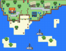 Insel Map nach Pause