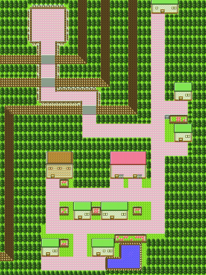 Pokémon-Map: De-Map Von Eventura City