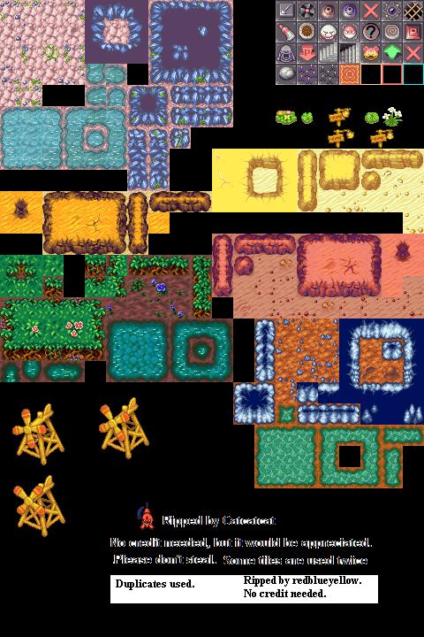 Pokémon-Tileset: PMD2 Tileset