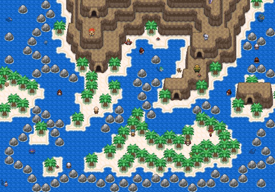 Pokémon-Map: Wb Map K1 - Ost-West-Route