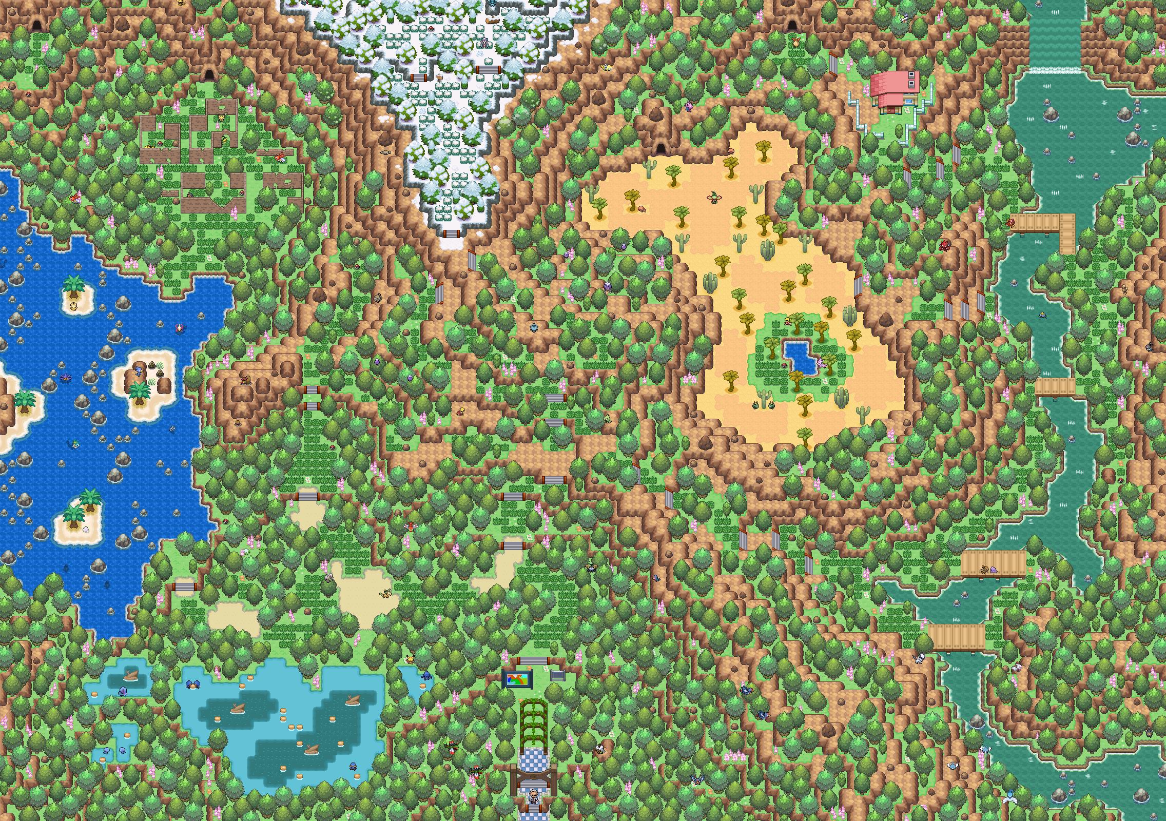 Pokémon-Map: Einbaumart-Safari-Zone -.-
