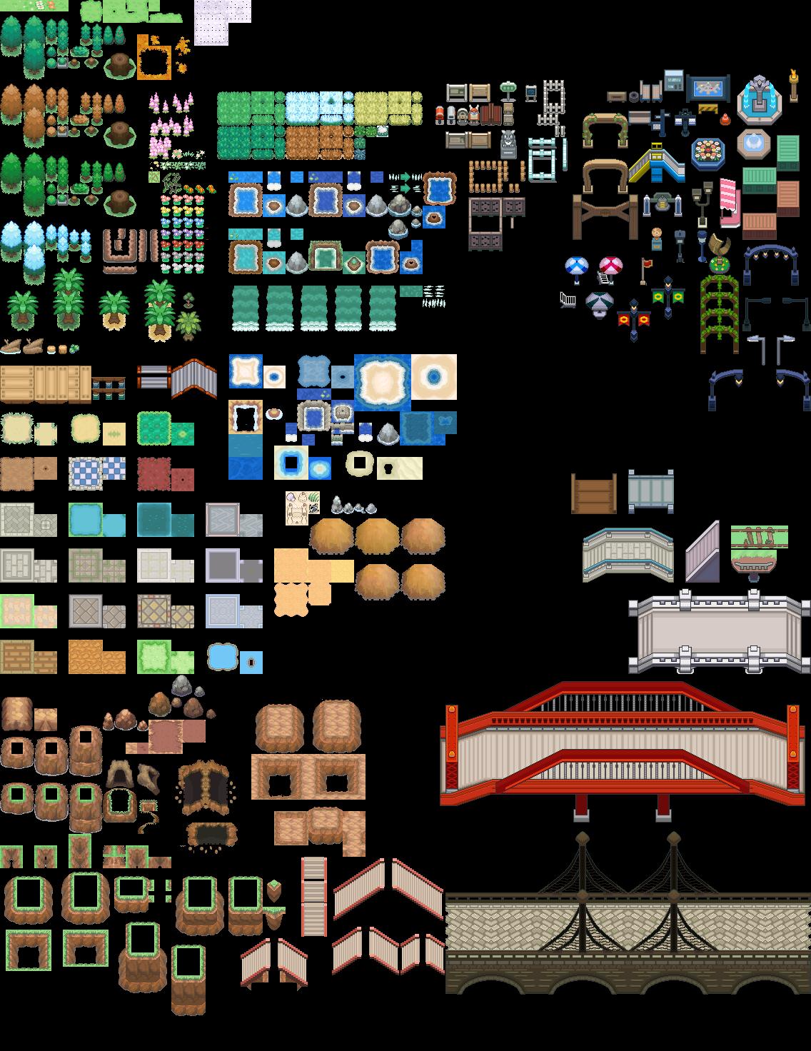 Pokémon-Tileset: Hilfe beim BW ultimate Tileset