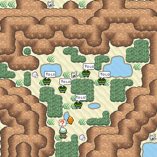 Pokémon-Map: A wild Horde Yolotoad appears
