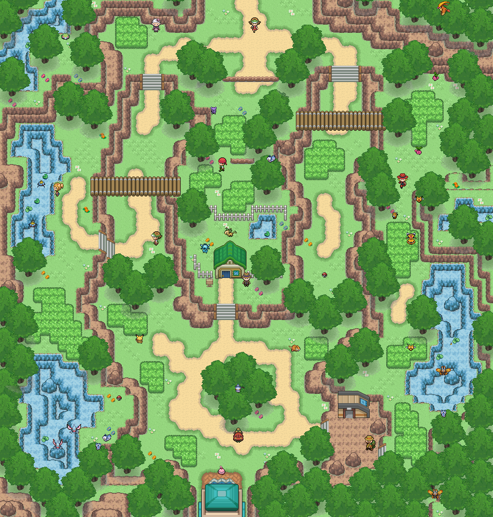 Pokémon-Map: Remake route 5 aka hingeklatscht
