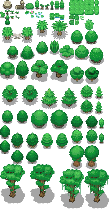 Pokémon-Tileset: Abgabe 100!! Party Jard!!