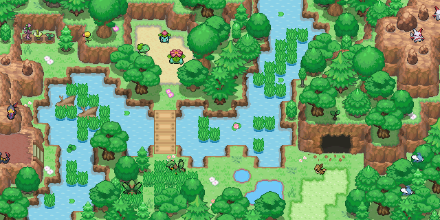 Pokémon-Map: Kleine Random Maps #2