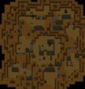 Untergrund Wüstenruine