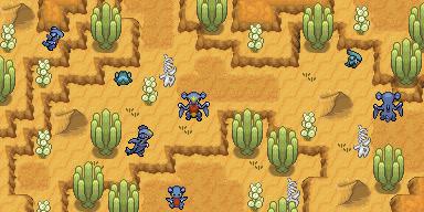 Pokémon-Map: BB Weihnachtswichtel - Wüste