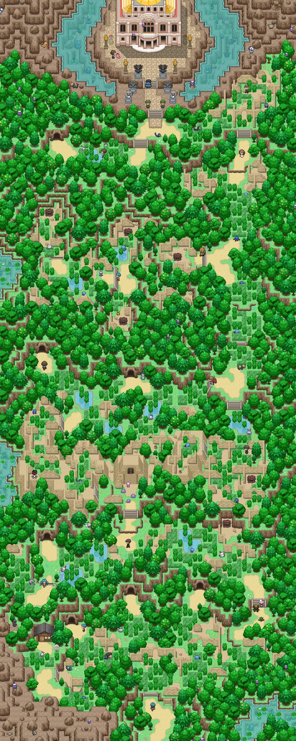 Pokémon-Map: Antike Siegesstraße