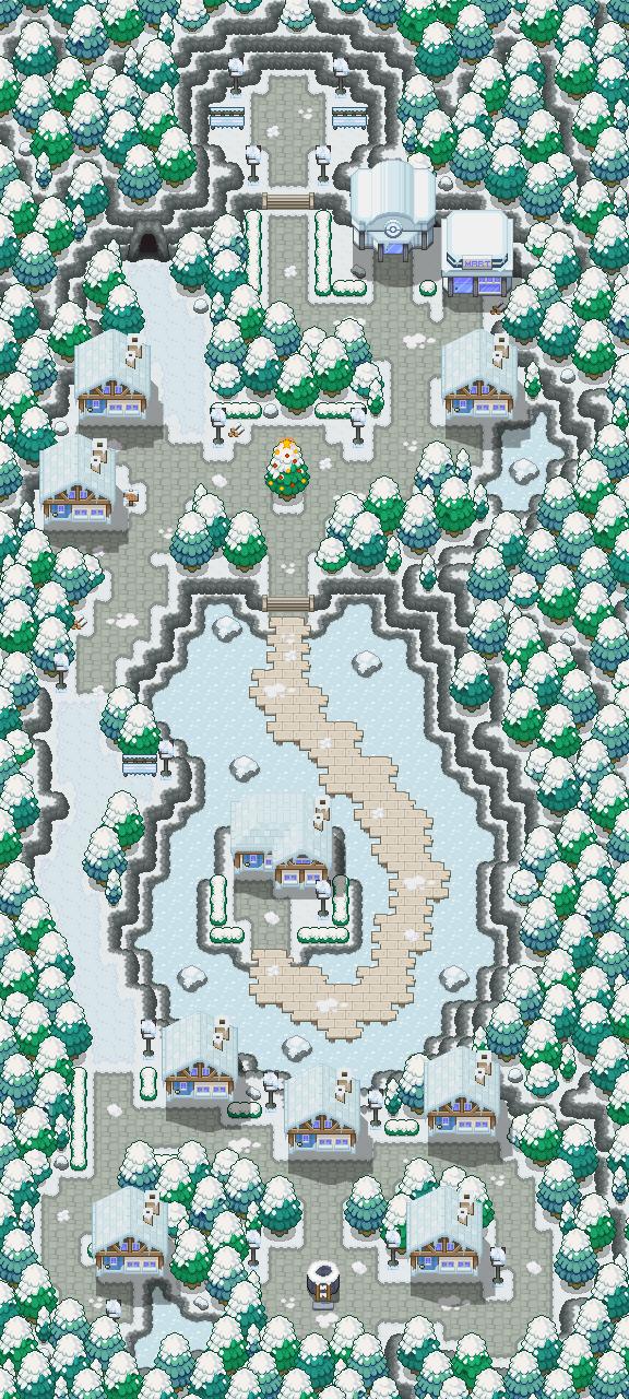 Pokémon-Map: Adventsdorf, Klappe die 2te!