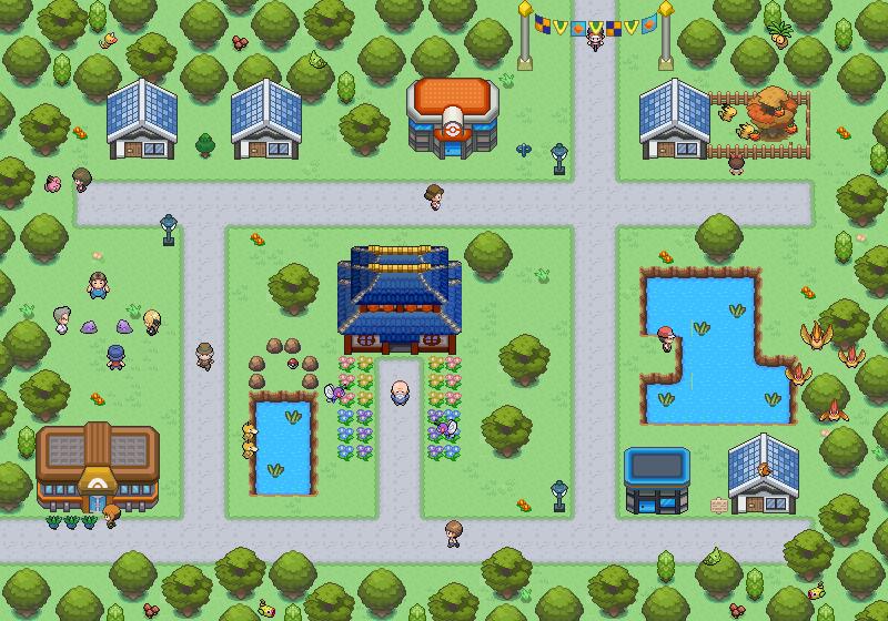 Pokémon-Map: Primula City