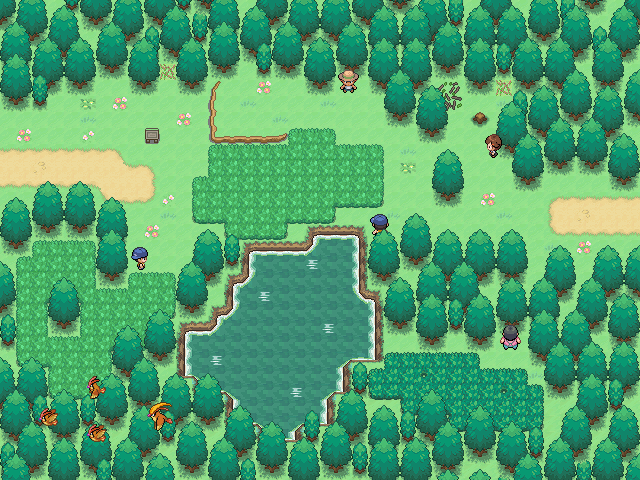 Pokémon-Map: Route 1