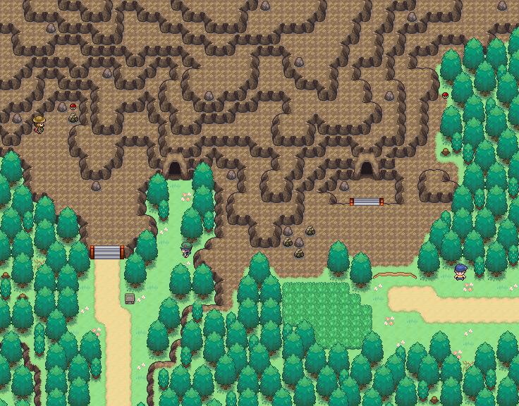 Pokémon-Map: Route 2