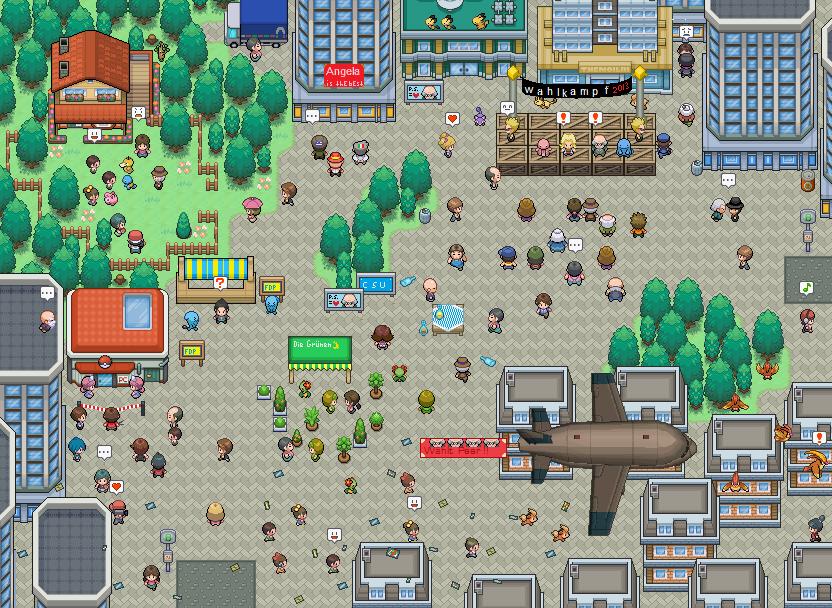 Pokémon-Map: Ähm, ja...