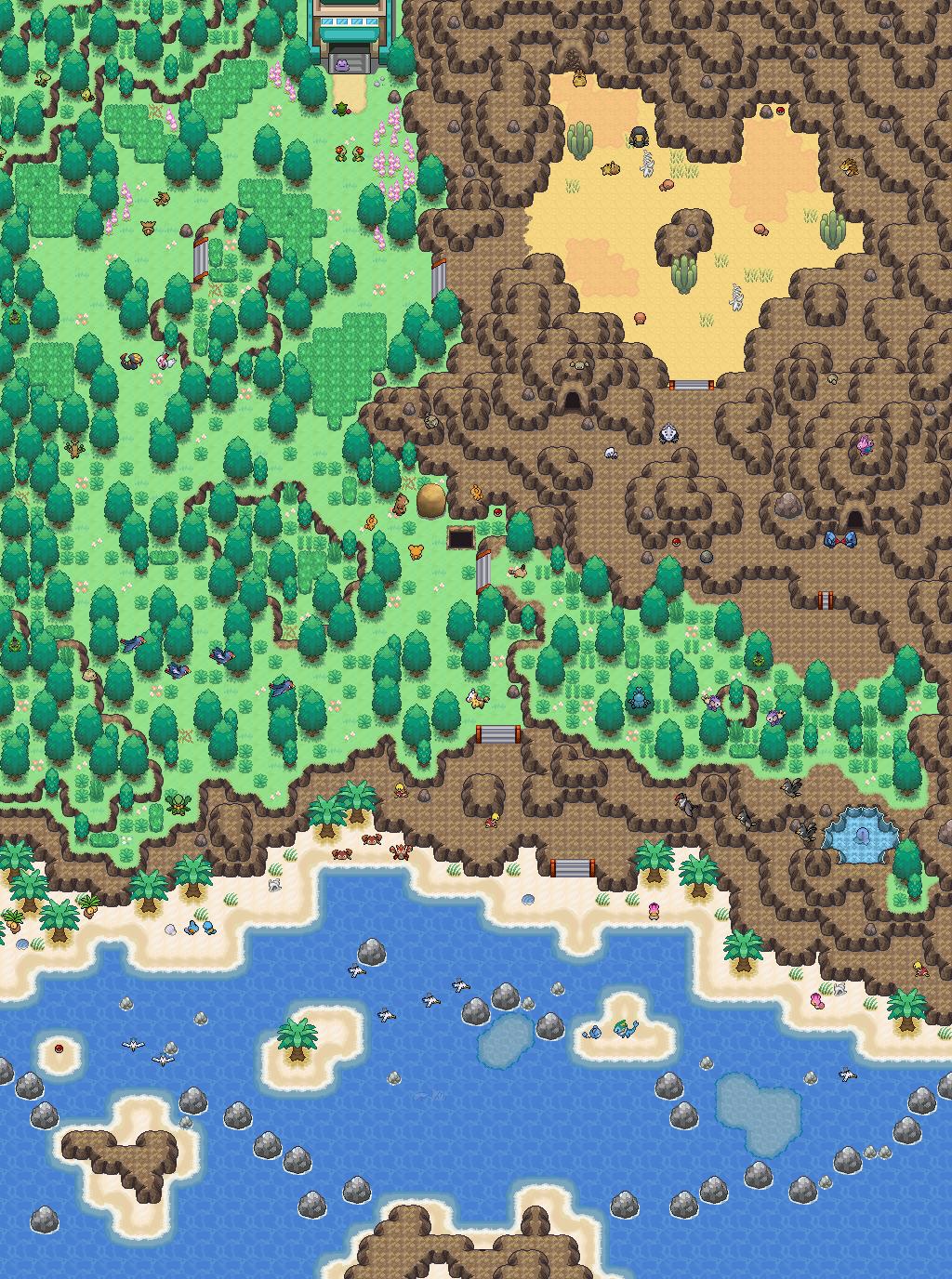 Pokémon-Map: Safarizone
