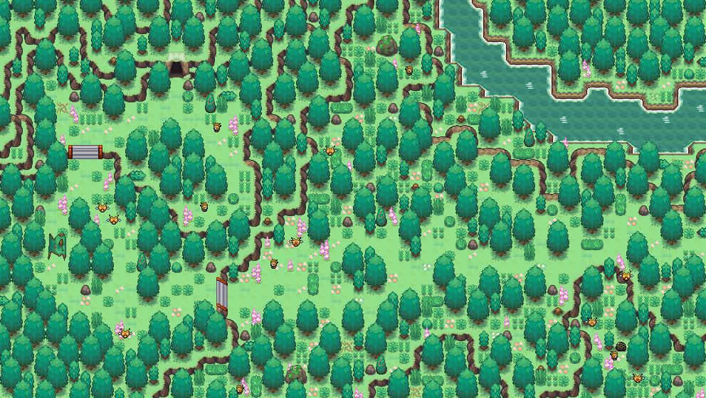 Pokémon-Map: Idyllische Route?