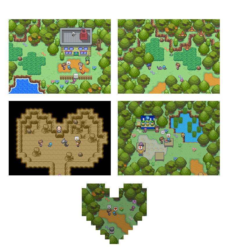 Pokémon-Map: Ein Tag in der Pokemonwelt ...