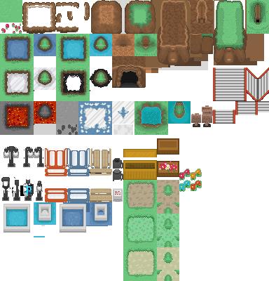 Pokémon-Tileset: Meine Tiles