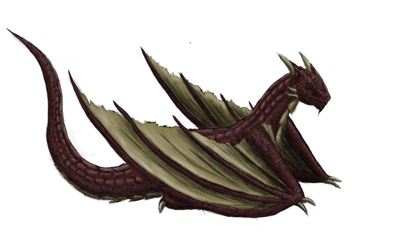 Pokémon-Zeichnung: Drache