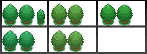 Pokémon-Tileset: Meine Bäume