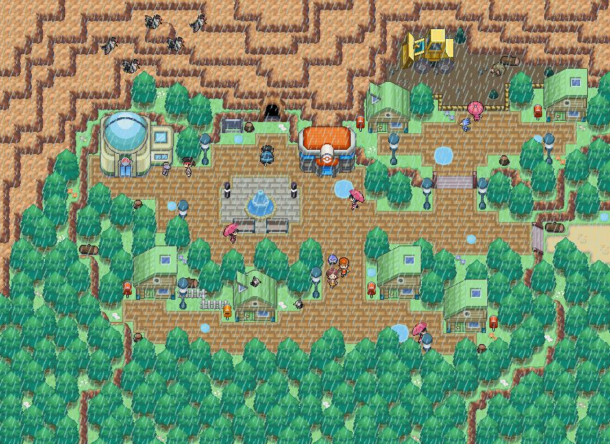 Pokémon-Map: Wiesenflur nach 2 Jahren