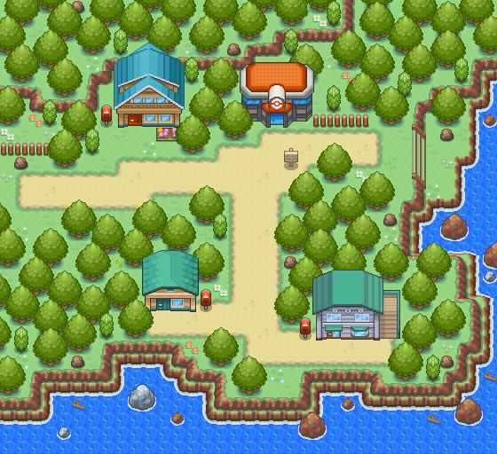 Pokémon-Map: Neuborkia