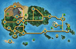 Pokémon-Map: Remake einer fantastischen Region