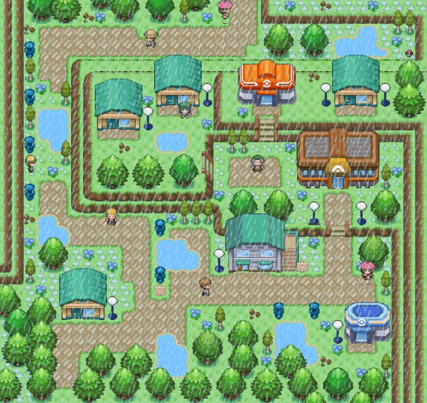 Pokémon-Map: Taso City