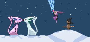 Pokémon-Pixelart: Der Winter lässt warten