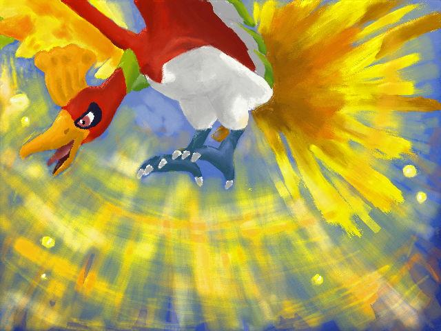 Pokémon-Fanart: Ho-oh