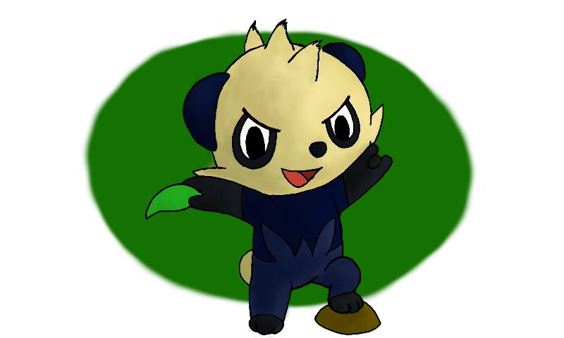 Pokémon-Zeichnung: Yanchamu