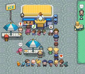 Pokémon-Map: Eisladen