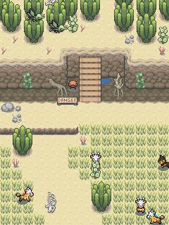 Pokémon-Map: Girafa-Wüste