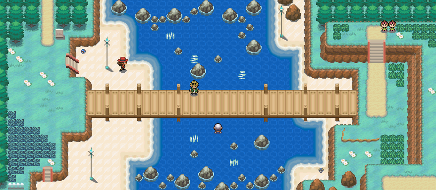 Pokémon-Map: Bundbrücke Remake
