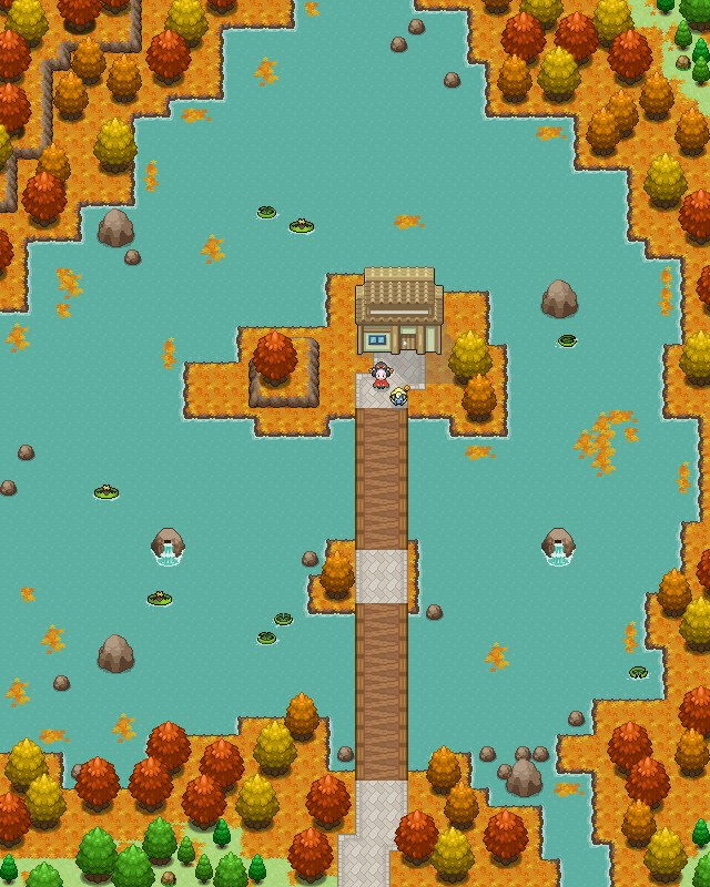 Pokémon-Map: Akinoumi no mahou