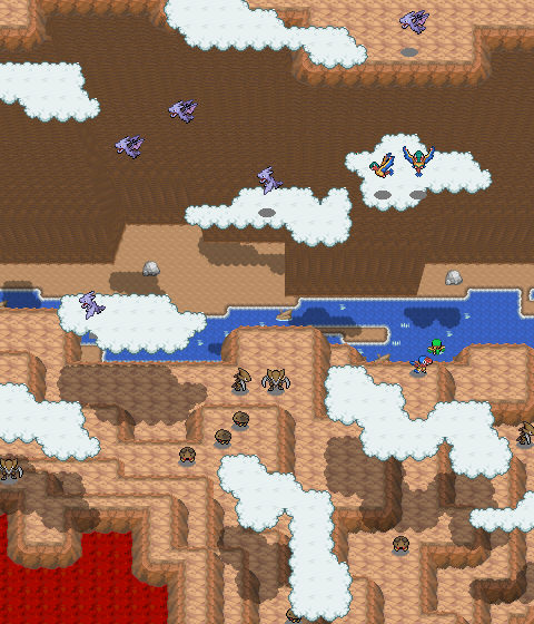 Pokémon-Map: Drachenklippe