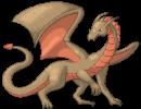 Drachen Pixelart
