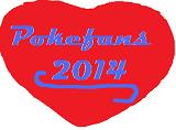 Pokémon-Sprite: Pokefans herz 2014